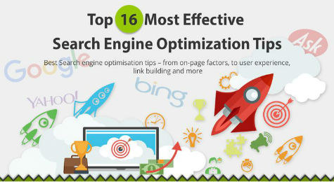Top 16 SEO Tips