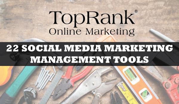 Social Media Marketing Management Tools
