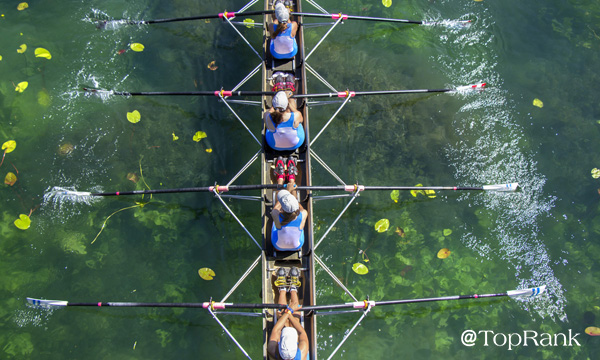 Women's rowing team image.