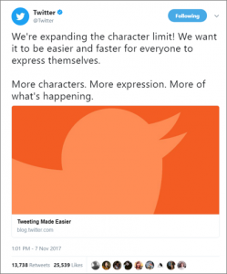 Twitter Character Count