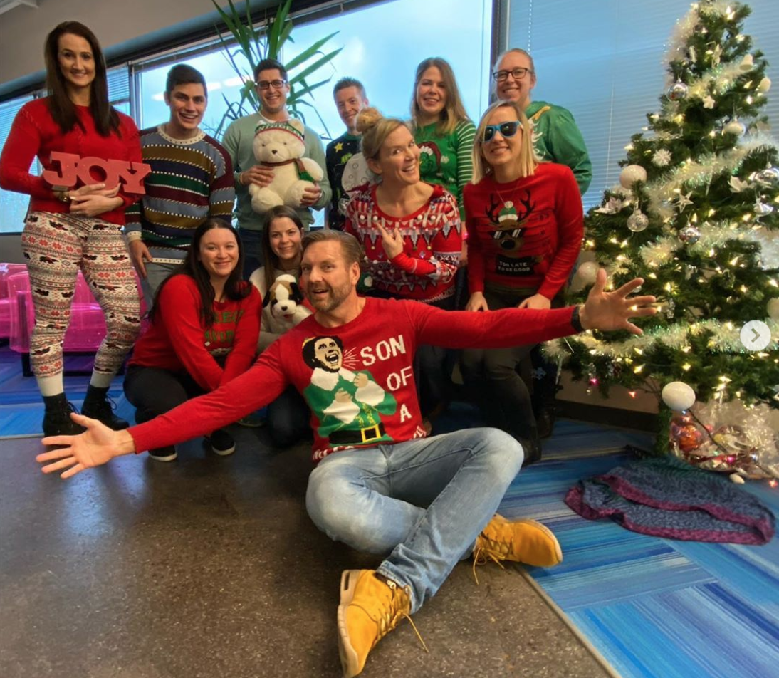 TopRank Marketing Ugly Sweater Day 2019