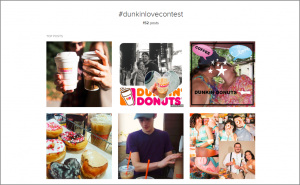 Dunkin' Donuts Valentine's Day Marketing