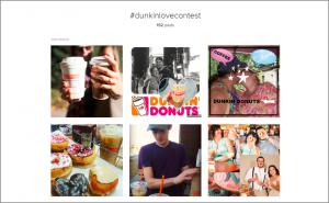 Dunkin' Donuts Valentine's Day Marketing