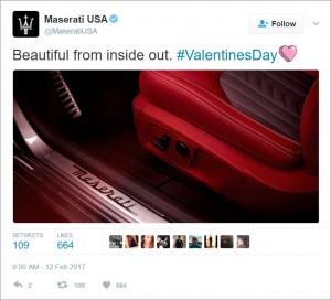 Maserati V-Day Marketing