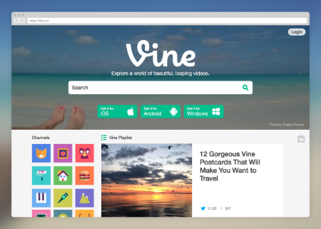 Vine New Look