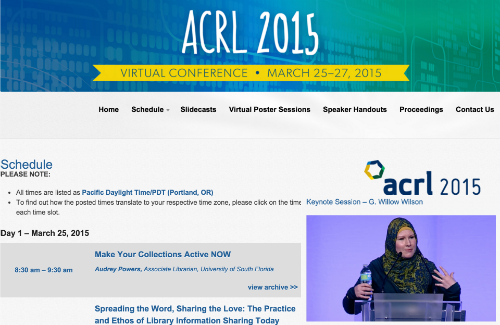 Virtual Conference ACRL