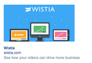 Wistia ad sample