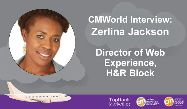 CMWorld Interview: H&R Block's Zerlina Jackson Explores Marketing in the Financial Sector