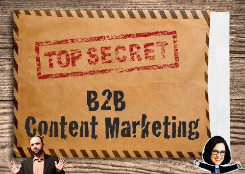 B2B Content Marketing Secret