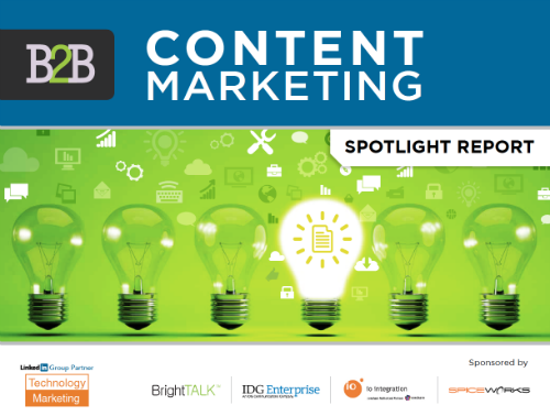 Technology Marketing: B2B Content Marketing Spotlight Report