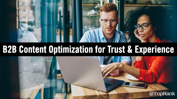 B2B marketing optimization