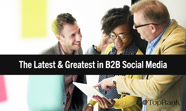 "B2B Social Media Shakeup ""width ="" 600 ""height ="" 360 ""/> </p> <p> Our senior content marketing manager, Caitlin Burgess, ranked ninth in our top social media marketing posts of the year, examining a selection of the biggest changes that have taken place in the social scene throughout the year. After scandals, criticism and demands for more data protection and relevance, Caitlin examined how social platforms work harder to restore their original appeal as secure communities and conversation targets. View all of Caitlin's posts here and follow her on Twitter. </p> <h3> <strong> 10. 5 top B2B brands with exemplary Twitter engagement – Lane R. Ellis </strong> </h3> <p> <img class="