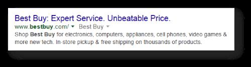 best buy meta example