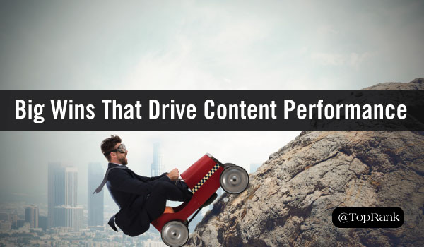 How to Use Big Wins to Drive Continuous Content Marketing Performance