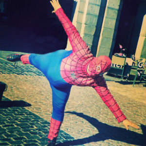 Chubby Spiderman
