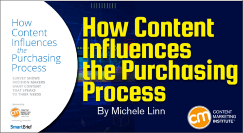 New Report: 5 Statistics You Need to Know on How Content Influences Purchases