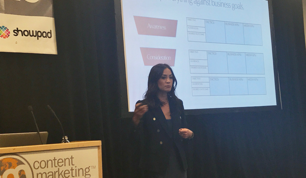 Alicianne Rand Shares 4 Tips for Driving Sales Through Content Marketing #CMWorld