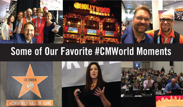 An Ode to Content Marketing World: A Look Back at Some of Our Favorite #CMWorld Moments
