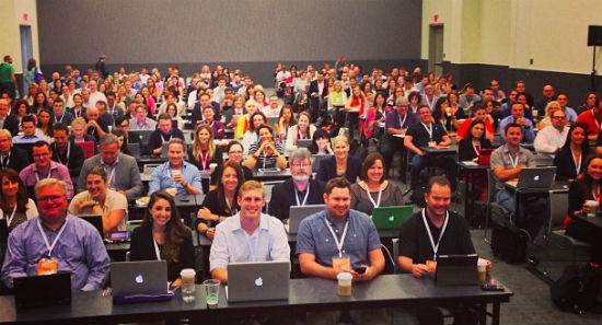 Content Marketing World Audience