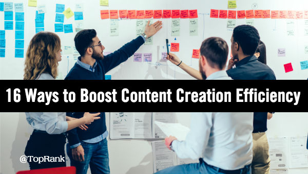 Content Creation Efficiency