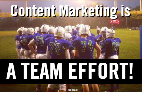 content marketing team