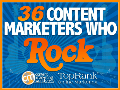 36 Content Marketers Who Rock