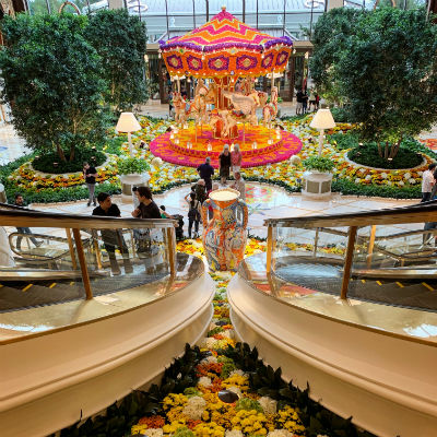 Encore Boston Lobby
