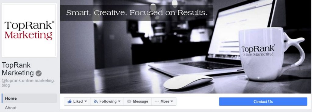 TopRank Marketing on Facebook