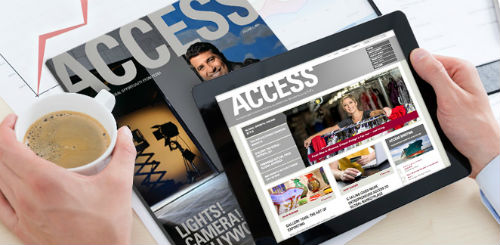 Fedex Access Mobile Magazine