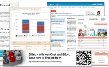 OpenText Content Marketing