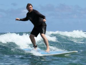 Lee Odden Surfing