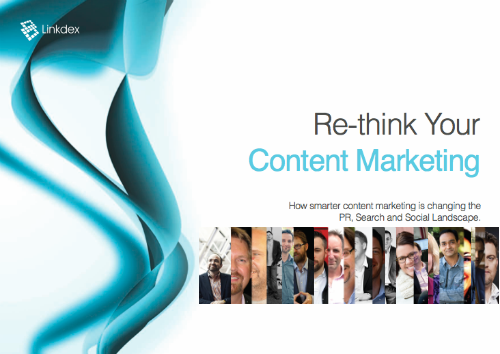 Linkdex Content Marketing eBook