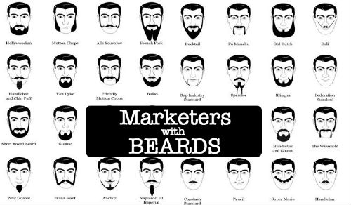 Marketers with Beards - Facebook