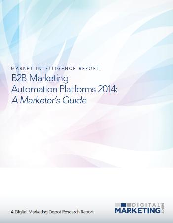 B2B Marketing Automation Platforms 2014