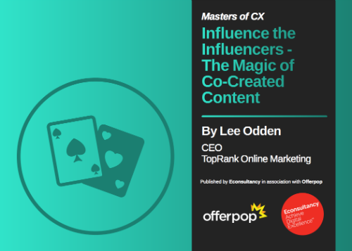 Influencing Influencers Co-Created Content