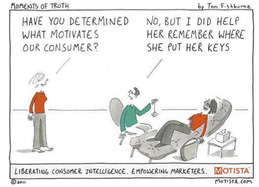 Cartoon Customer Insights