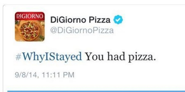 DiGiorno Hashtag Social Media Marketing Fail