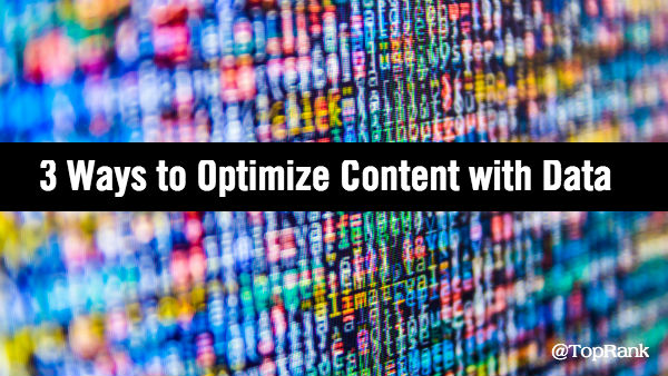 Optimize Content Marketing with Data