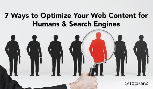 optimize for humans