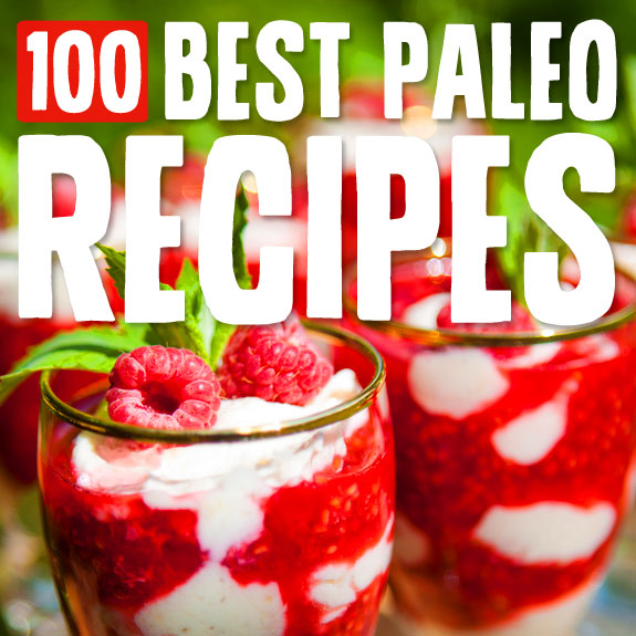 100 Best Paleo Recipes Graphic
