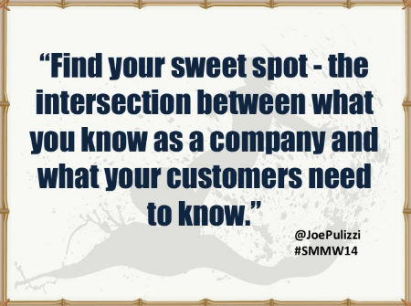 Find your sweet spot