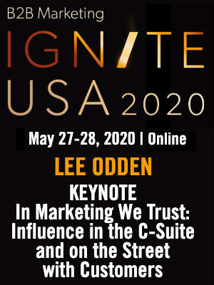 Lee Odden B2B Ignite USA 2020