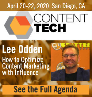 Lee Odden Content Tech Summit 2020