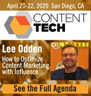 Lee Odden Content Tech Summit 2020