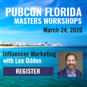 Lee Odden Pubcon Florida 2020