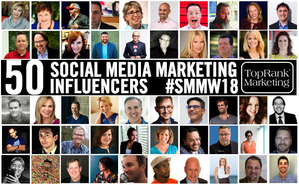 Social Media Marketing Influencers 2018