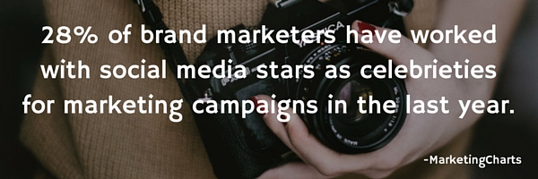 social media stars as celebrities in marketing campaigns