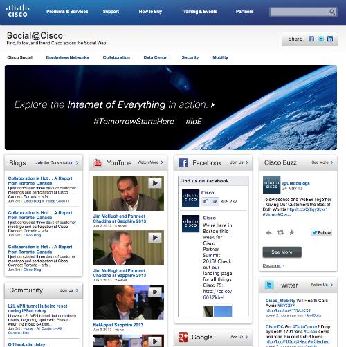 Cisco Social Hub