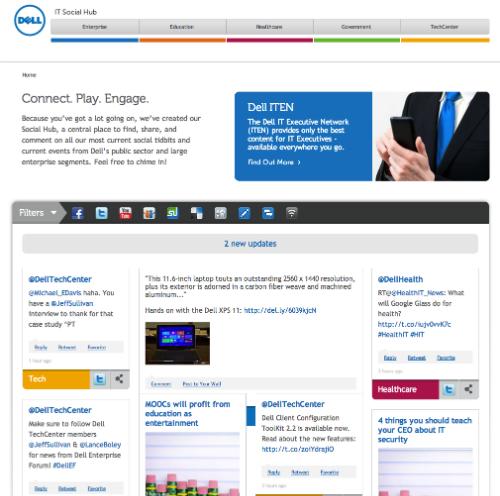 Dell IT Social Hub