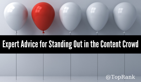 Standing Out From the Crowd: Insights From 12 Industry Leaders